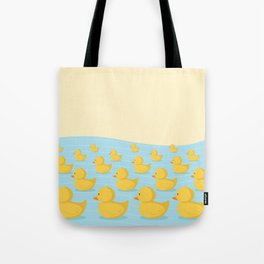Rubber Duckie Army Tote Bag