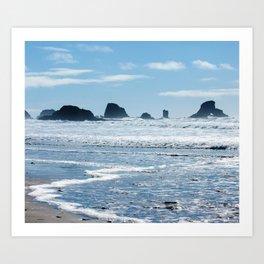 Oregon Coast Beach Photography Print Art Print