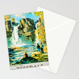 retro Teesdale poster Stationery Cards