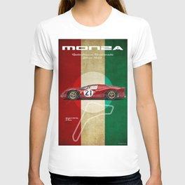 Monza Racetrack Vintage T-shirt