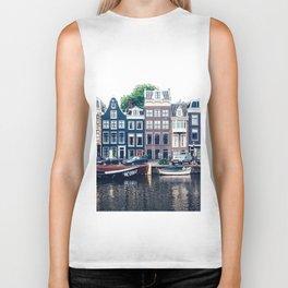 Street in Amsterdam Biker Tank