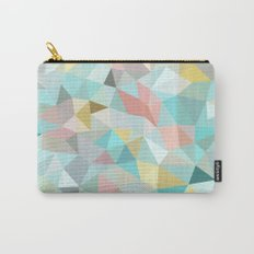 Pastel Tris Carry-All Pouch