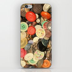 Push My Buttons iPhone & iPod Skin
