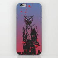 hotline miami iPhone & iPod Skins featuring HOTLINE MIAMI by Bertrand Nadal