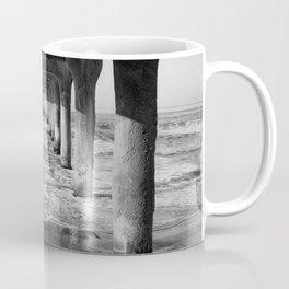 Manhattan Beach Pier | Manhattan Beach Photography | Manhattan Beach Art | Manhattan Beach Print Coffee Mug