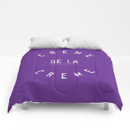 Creme de la Creme - joie de vivre Purple Comforters