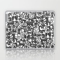 paper zodiac graphite Laptop & iPad Skin