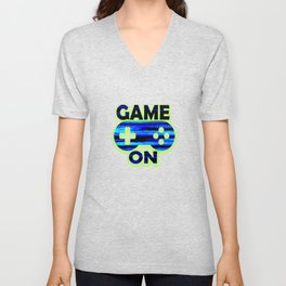 Game On Unisex V-Neck