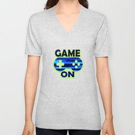 Game On Unisex V-Neck