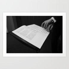 Conducting Art Print