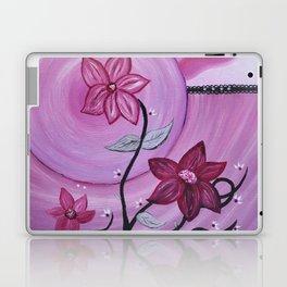 Fleurs et ruban Laptop & iPad Skin