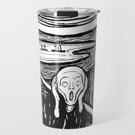 """Edvard Munch """"The Scream"""", 1895 Travel Mug"""