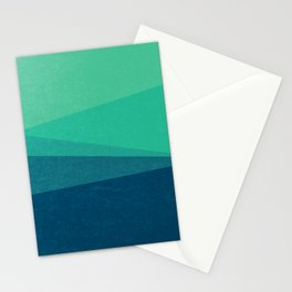 Stripe VIII Minty Fresh Stationery Cards