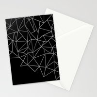 Ab Storm Black Stationery Cards