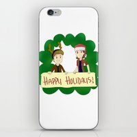 supernatural iPhone & iPod Skins featuring Supernatural by Brittany's Drawings and Doodles