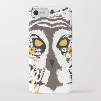 psych iPhone & iPod Cases featuring Psych Owl by T Dupuis