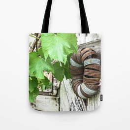 Rusty Wreath Tote Bag