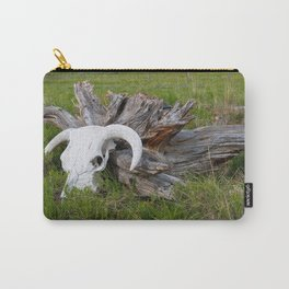 Buffalo skull Carry-All Pouch