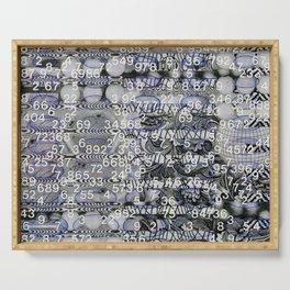Post Digital Tendencies Emerge (P/D3 Glitch Collage Studies) Serving Tray