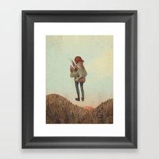 Overcoming Obstacles Framed Art Print