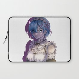 Rem in Shadows Laptop Sleeve