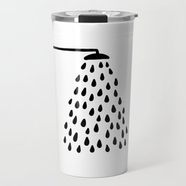 Shower in bathroom Travel Mug
