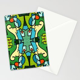 Vert A Go-Go Stationery Cards