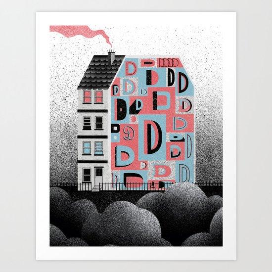 No. 26 Zine - D Art Print
