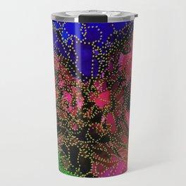 Space Garden in Technicolor Travel Mug