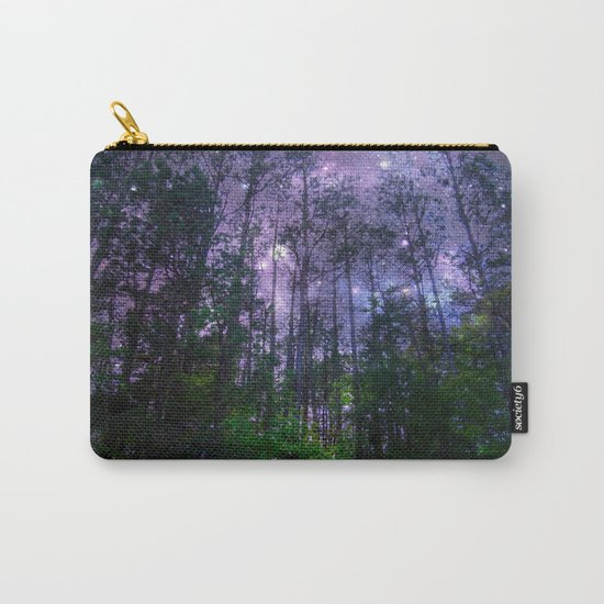 Mystic Forest : Purple Space Carry-All Pouch