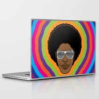 afro Laptop & iPad Skins featuring Afro Funky by Roberlan Borges