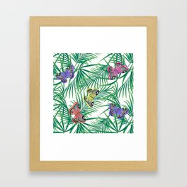 Tropics. Framed Art Print
