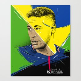 Neymar Jr. Canvas Print