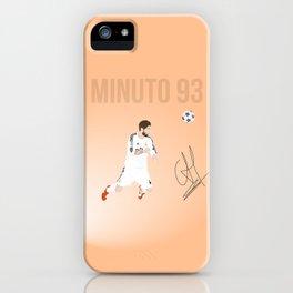 Sergio Ramos - Minuto 93 iPhone Case