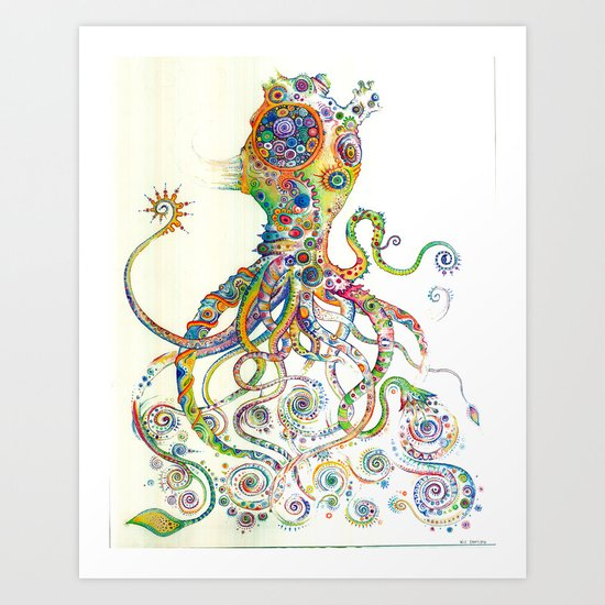 The Impossible Specimen 2 Art Print