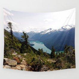 Turquoise gem of mountains - Cheakamus Lake Wall Tapestry