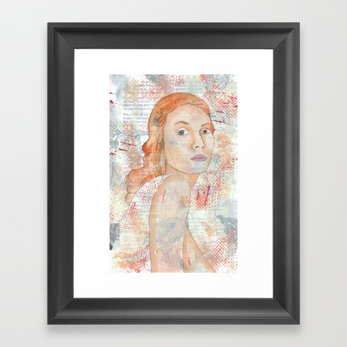 Blessed by patsy paterno Framed Art Print by heartworks | Society6