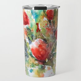 A splash of red Travel Mug