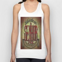 lettering Tank Tops featuring Lettering by MarcosDevelop