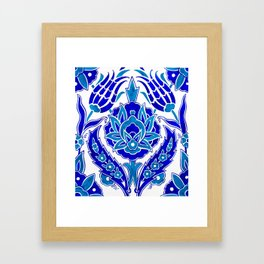 Turkish Design Framed Art Print