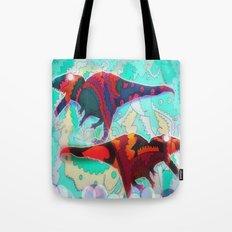 Dinosaur Collaboration Tote Bag