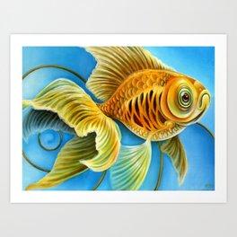 Goldfish Memory Art Print