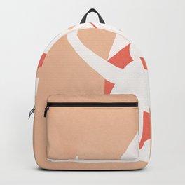 Minimal Woman Pose Backpack