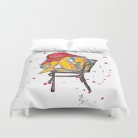 selena Duvet Covers featuring selena by Laurie Art Gallery
