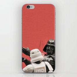Slapping a stormtrooper iPhone Skin