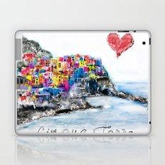 I love Cinque terre Laptop & iPad Skin