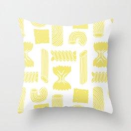 Pasta Pattern Throw Pillow