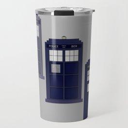 The Materializing TARDIS Travel Mug