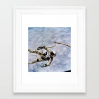 spaceman Framed Art Prints featuring SPACEMAN by Planet Prints