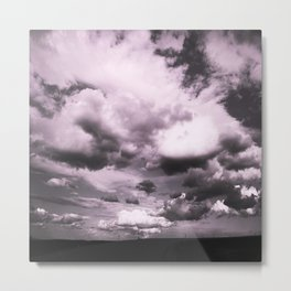 Cloudy Sky #decor #society6 Metal Print